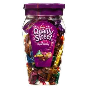 Nestle Quality Street Jar (600g) ONLY £3.99 (RRP £5.99) @ B&M
