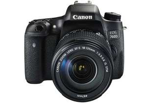 Canon EOS 760D with EF-S 18-135mm STM £579.00 @ DigitalRev