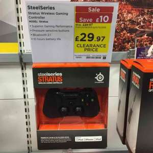 Steelseries Stratus Gaming Controller for iOS and Apple TV 4  £29.97 @ PC World