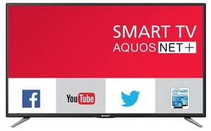 "SHARP  LC-49CFE6031K  TV, LED, 49"" FULL-HD, SMART, WI-FI, £382.60 delivered at cpc"