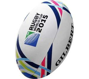 ** Gilbert Rugby World Cup Ball £4.97 delivered @ Currys **