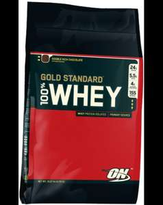 Optimum Nutrition Gold standard 4.5kg - Free AMIN.O. ENERGY 270G £75.44 @ The Suppliment Store