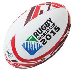 Gilbert Rugby World Cup Ball (choice of 3) £3-£5 Delivered @ Newitts