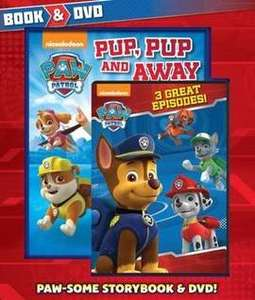 Paw Patrol Book & DVD pack £4.00 @ The Book People