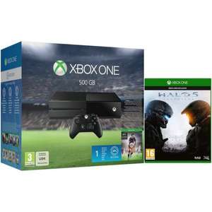 XBOX ONE 500GB Console with FIFA 16 + Halo 5: Guardians £259.99 @ EBAY /  zavvi_outlet
