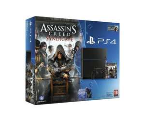 PS4 500gb Black Console Inc Assassin's Creed Syndicate & Watch Dogs £249.99 @ eBay/Boss Deals