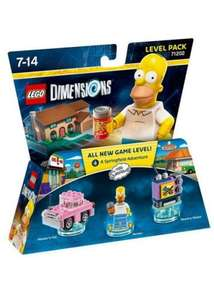 Lego Dimensions - The Simpsons Level Pack £25.99 @ Base