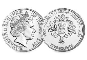 £5 FOR £5.00 - Secure your Longest Reigning Monarch Coin @ westminstercollection