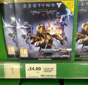Destiny Taken King Legendary Edition Xbox One £34 @ Tesco In-Store