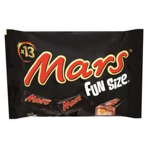 Mars Funsize/Smarties & Milkybar Buttons Minis bags 2 for £2 @ Tesco Express