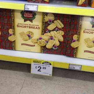1kg box of Scottish shortbread, £2.99 at Poundstretcher.