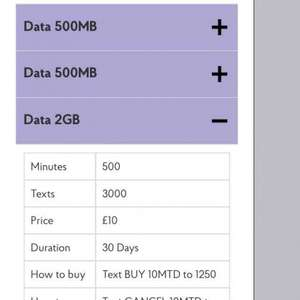 Sim Only 30 day contract, 2GB data, 500 mins & 5000 texts for £10pm @ Post Office Mobile (EE)