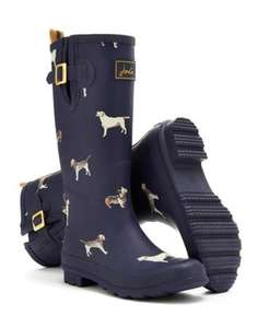 Joules Wellies Navydogs £24.00 Amazon RRP £39.99