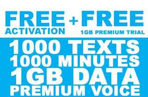 Freedompop free activation & free 1GB trial - 2 days only