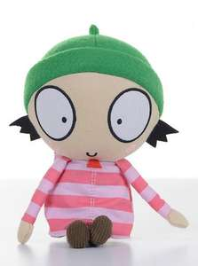 CBeebies Sarah & Duck: Sarah soft toy with sound £4.49 delivered @ bbcshop