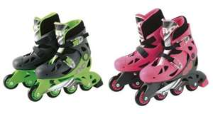 ** Evo Inline Skates - Green or Pink now £10 @ Tesco Direct (Free CnC) **