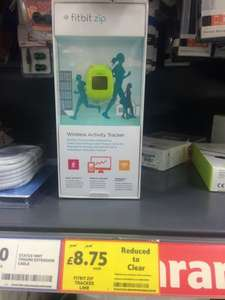 Fitbit Zip Fitness Tracker Green @ Tesco Instore - £8.75