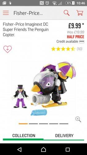 Imaginext Batman, the Penguin - £9.99 @ Argos