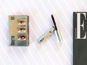 World Exclusive: The latest Benefit They're Real Tinted Lash Primer, FREE only with the December issue of ELLE UK.