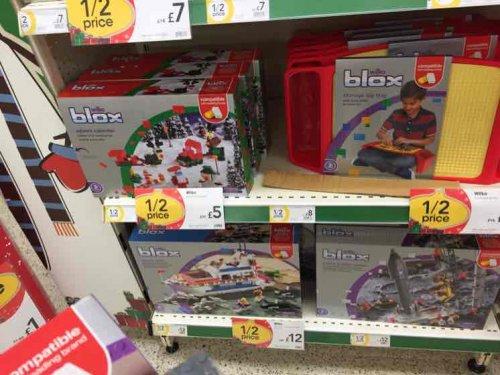 wilkinson's blox - Lego compatible £1
