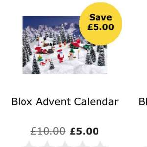 blox advent calendar - Lego compatible £5 @ Wilko