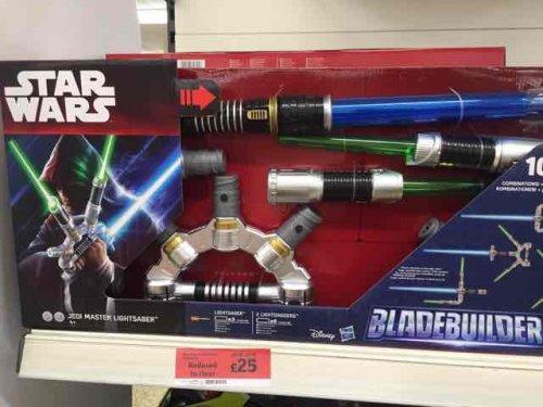 Star Wars lightsaber bladebuilders set £25 @ Sainsbury's