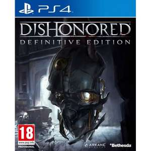 Dishonored Definitive Edition PS4/XBox One Smyth's Toys