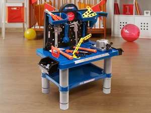 54 piece Kid's workbench £21.98 delivered @ Living Social