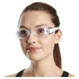 ** Speedo Futura Biofuse Women's Swimming Goggles, Clear/Purple now £3.50 @ Tesco Direct (Free CnC) **