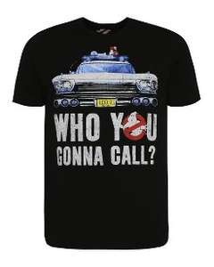 Ghostbusters T-Shirt £4 C&C @ Asda/George
