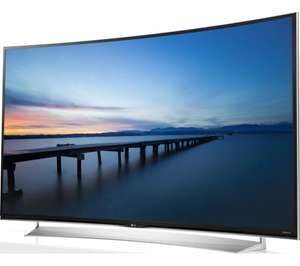 "LG 65UG870V Smart 3D Ultra HD 4k 65"" Curved LED TV 1979.10 @ Currys"