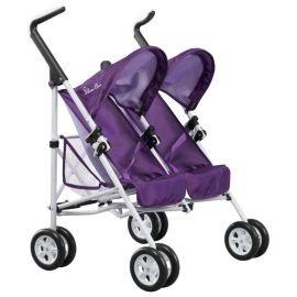 Silvercross Pop Duo Dolls twin buggy. purple £20 at tesco