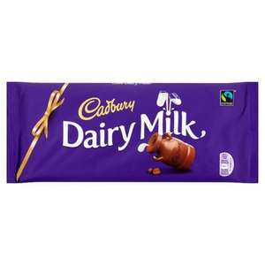 Large Dairy Milk Chocolate 360g £2.50 @ Premier Stores
