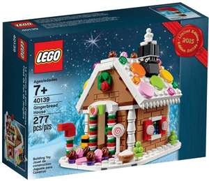 Free Lego Gingerbread House 40139 With all orders over £60 27th November - December 18ty