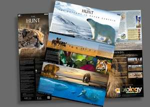 David Attenborough - The Hunt - Free Poster from The Open University