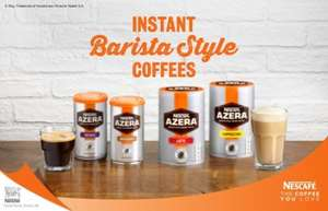 Back on offer: AZERA instant coffee half price at Tesco (100g for £2.49)