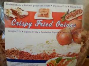 500g Crispy Fried Onion for £0.79 @ Home & Bargains