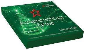 Cineworld Christmas Giftbox - £20 in the cinema £24.50 online - Night out for Two