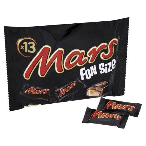 Mars Funsize 288g 13 Fun Size Mars chocolate bars - 0.75p @ wilko online