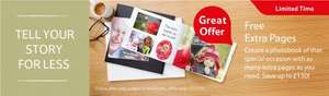 Tesco Photobooks free additional pages worth upto £130