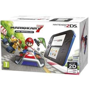 Nintendo 2DS Black & Blue Console + Mario Kart 7 £49 (Included in Clubcard boost) @ Tesco Direct (Sold out) / Still available instore