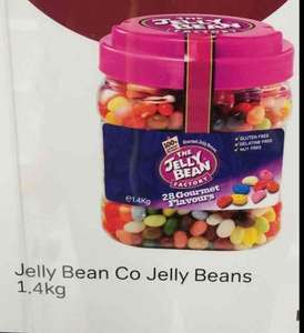 The Jelly Bean Factory 28 Gourmet Flavours Jelly Beans 1.4kg - £9.00 (64p per 100g) @ Iceland