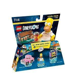 Lego Dimensions - Simpsons Level Pack - Amazon.fr -14.99 Euro or £14.69 delivered