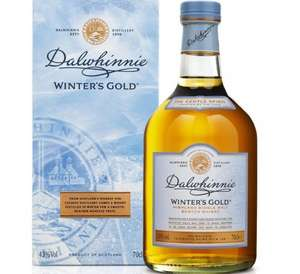 Dalwhinnie Winter's Gold 70cl - Only £27! - Morrisons - RRP £36.99