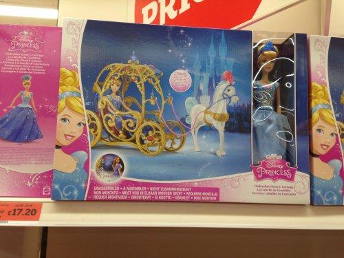 Disney Princess Cinderella Horse and Carriage £17.20 @ Sainsbury's