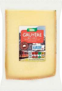 ASDA Chosen by You Swiss Gruyère Cheese (170g) was £2.50 now 2 for £3.00 @ Asda