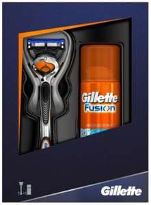 ** Gillette Gift Set Flexball Razor + Fusion Hydrating Shave Gel 75ml for £5 @ Tesco Direct (or £2.50 Clubcard Boost) **