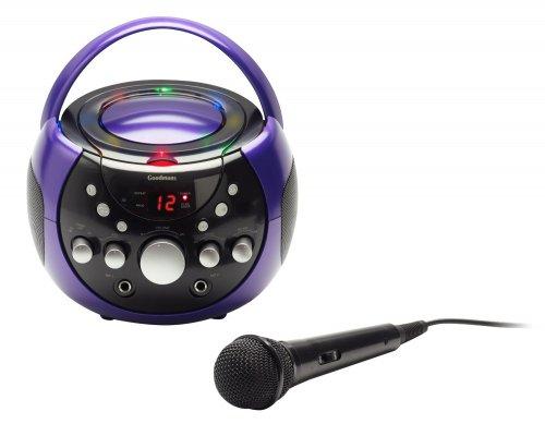 Goodmans XB9CDG Karaoke Machine with LED Lights - £29 @ amazon