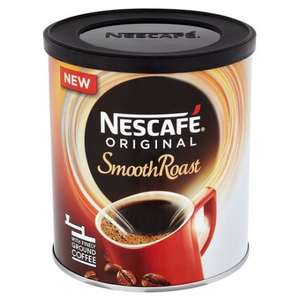 NESCAFE original Smooth Roast  large 180g tin £1.99 @ Fultons Food
