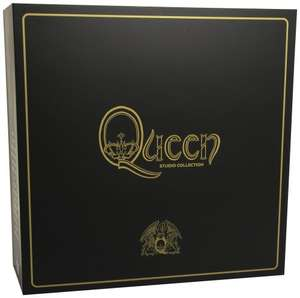 Queen - Complete Studio Album Vinyl Collection [VINYL] Box set £230.00 @ Amazon